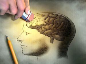 нарушение памяти и внимания