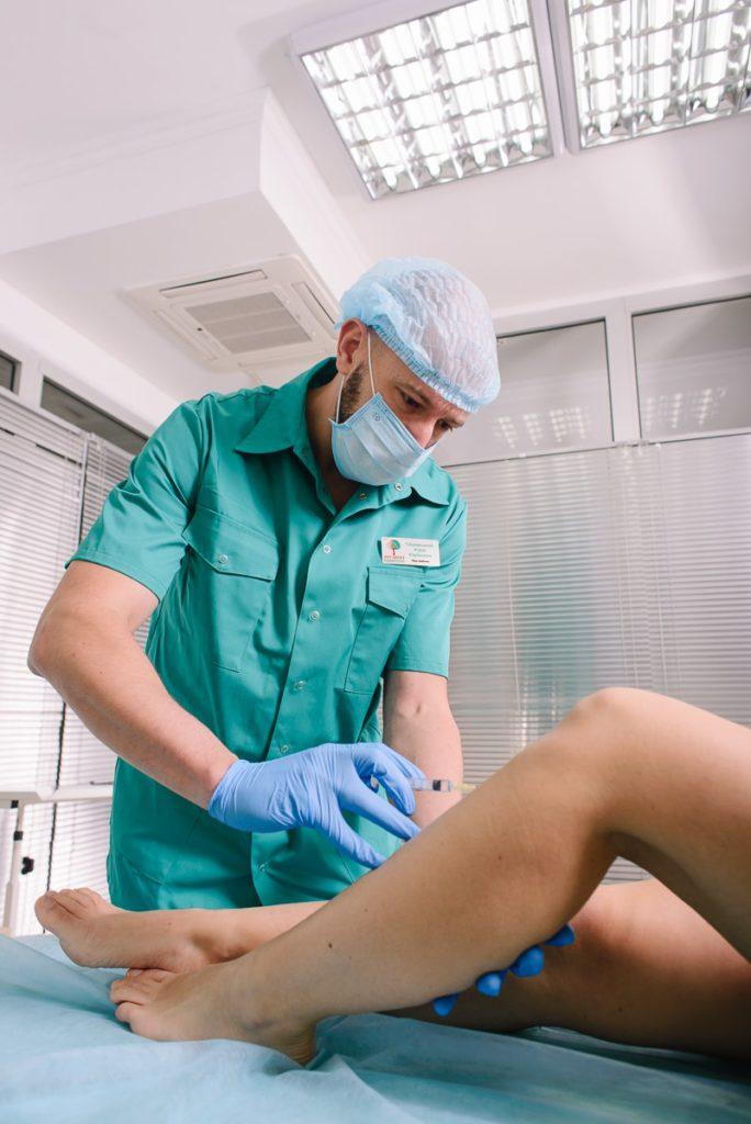 процедура лечения склеротерапия