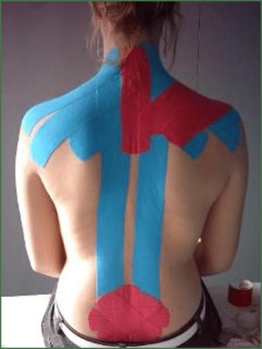 лечебные полосы синие красные